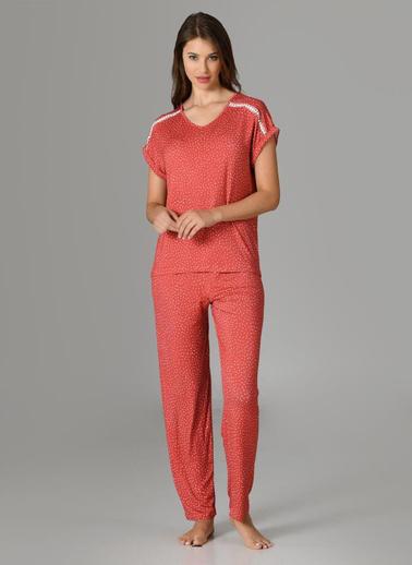 Nbb Pijama Takım Kiremit